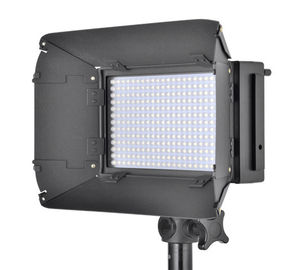 LCD Screen Ultra Bright Studio Video Lighting With Barndoor Dimmable